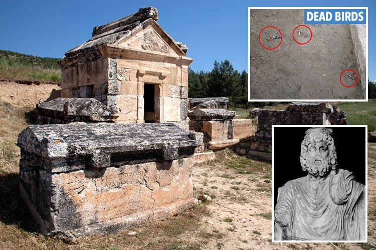 mystery behind portal to hell greek temple