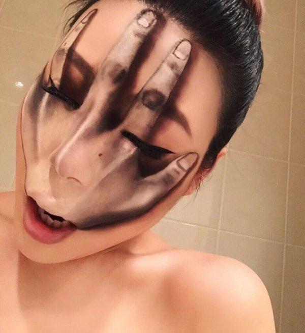 make up illusion pics