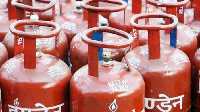 gas cylinder price drops down