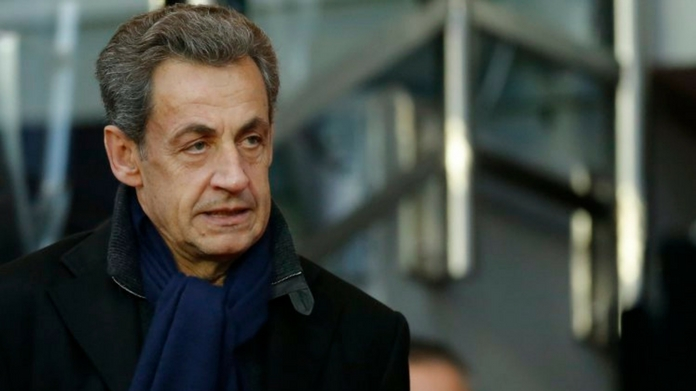 nicolas sarkozy arrested
