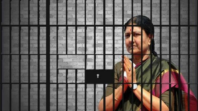 shashikala gets parole