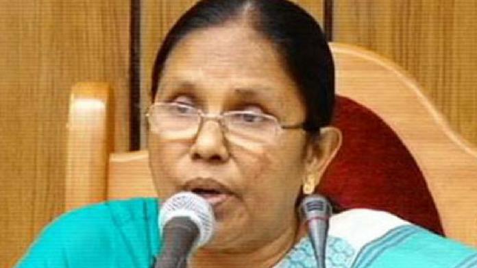 KK Shailaja minister