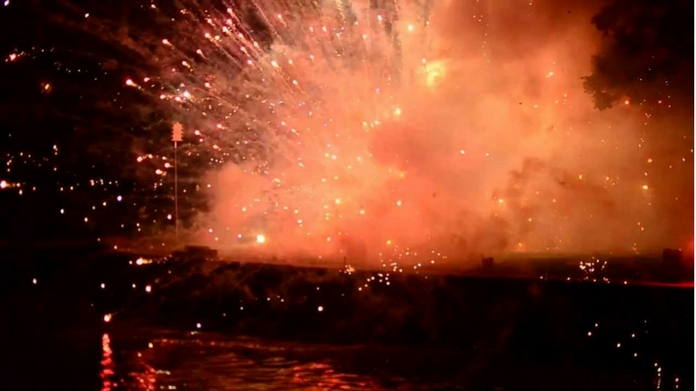 angamaly fireworks mishap one dead