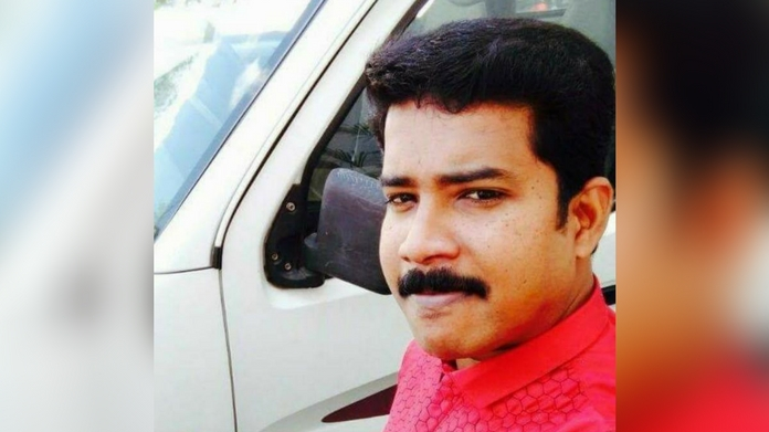 first arrest recorded in connection with RJ rajesh murder case