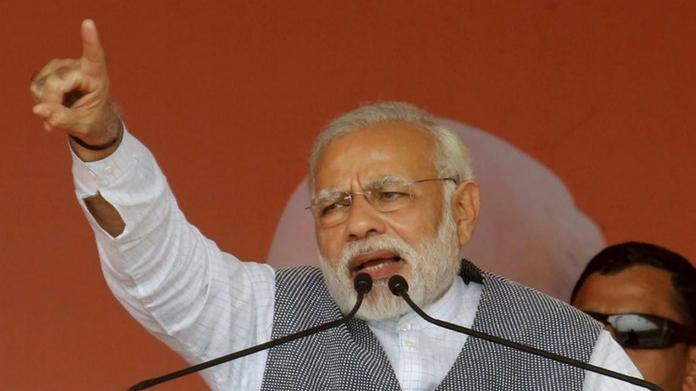 modi to take part in rally prior to loksabha polls