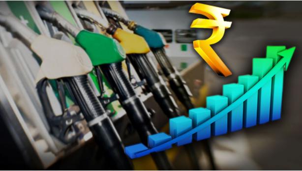 slight increase in petrol price
