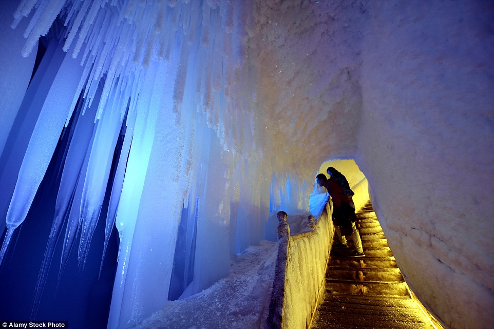 mystery behind china ice cave that never melts