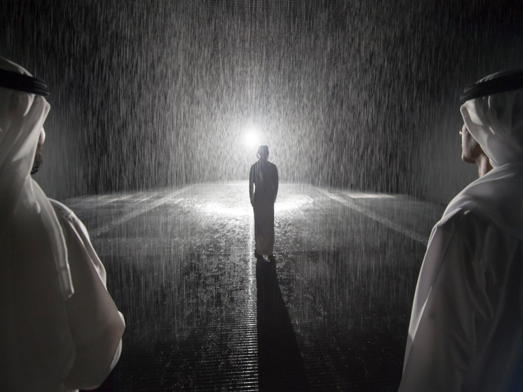 the reason why you wont get drenched in sharjah rain room