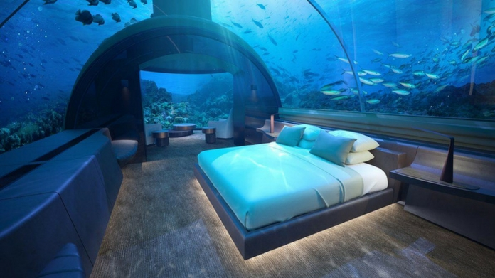 Worlds First Underwater Residence at Maldives