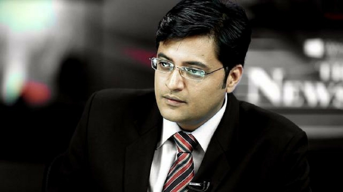 arnab goswami booked for abetting suicide of interior designer