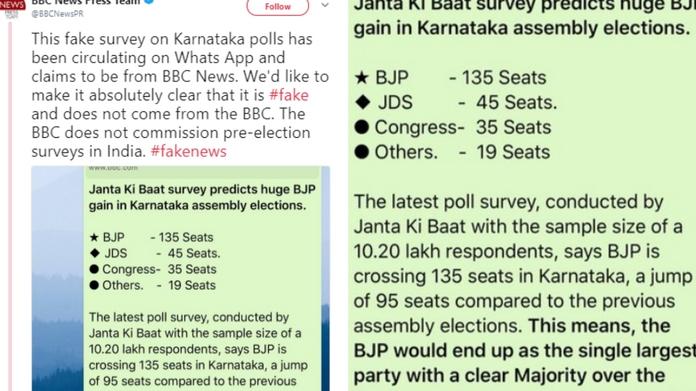 bbc denies survey