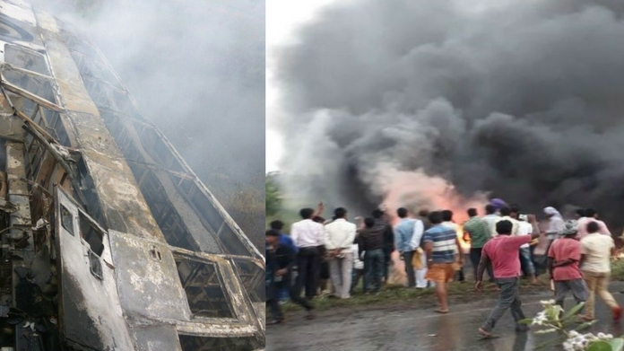 bus accident in bihar