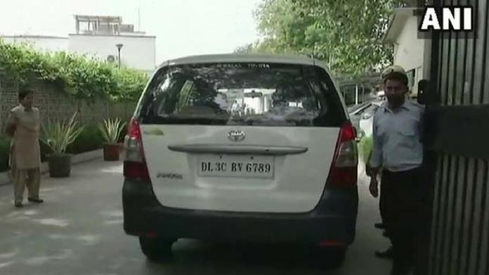 cbi raid at satyendra jain residence