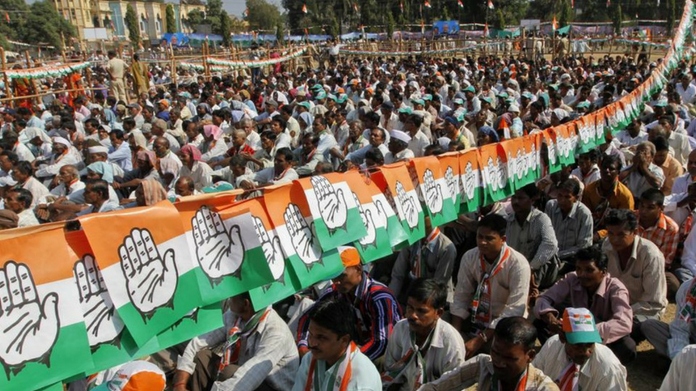 congress leads with 32000 votes in karnataka