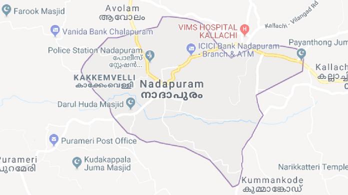 nadapuram map
