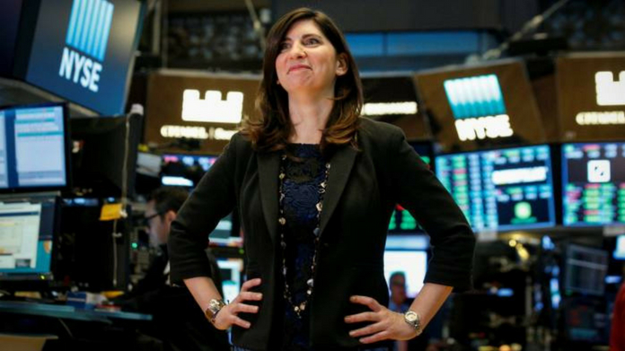 nyse has its first female leader