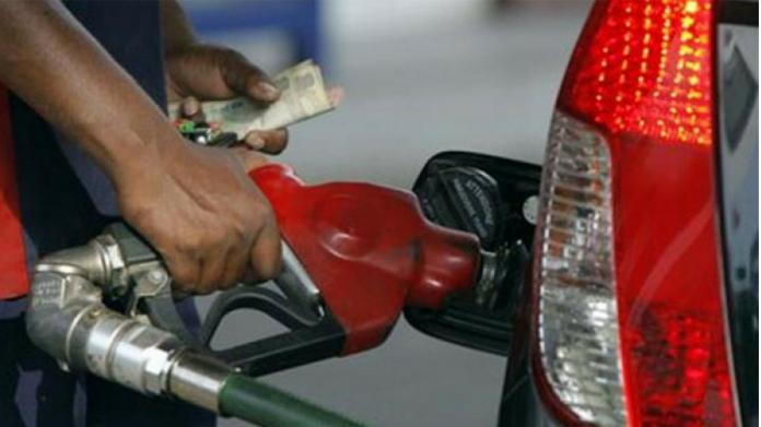 slight drop in fuel price