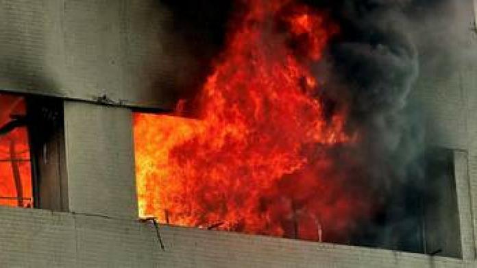village office fire