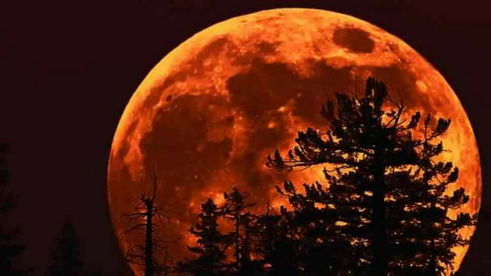 21st century longest blood moon