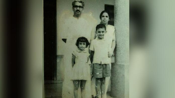 karunakaran family pic