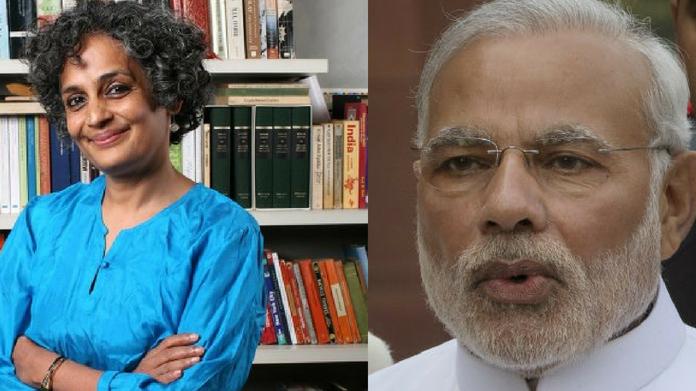 arundhathi roy against modi