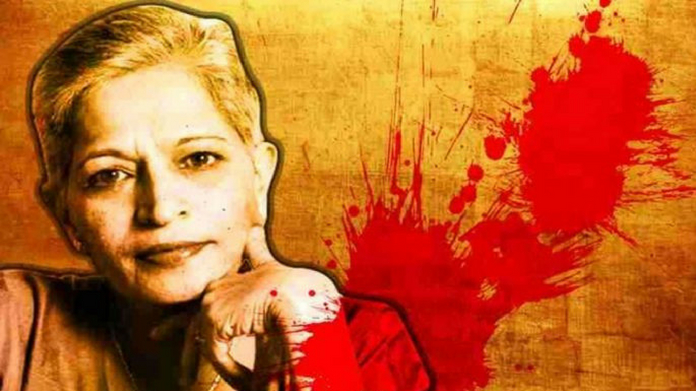 gauri lankesh was killed because she was anti hindutwa