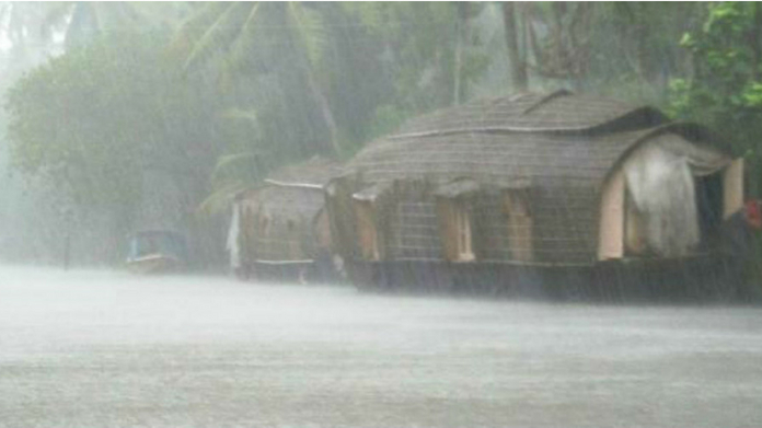 heavy rain in alapuzha