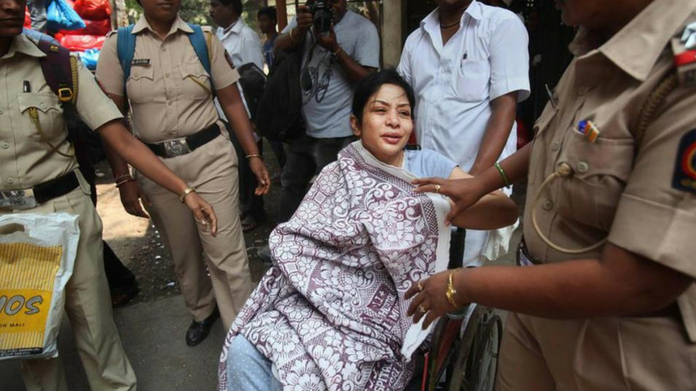 indrani mukherjee hospitalized