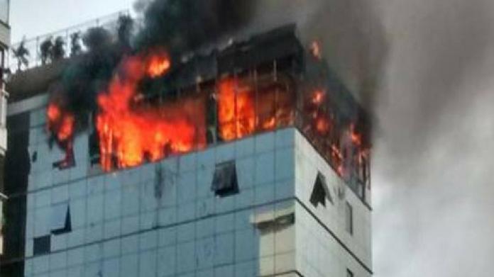 major fire in mumbais multi storeyed building