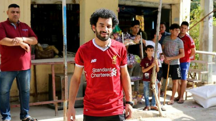 mohammed salah look alike wins internet