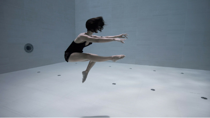 Artist Performs Stunning Underwater Choreography in the World's Deepest Pool