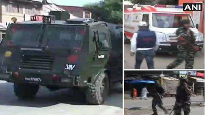 5 jawans injured in terrorist attack in jammu kashmir