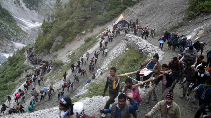 5 pilgrims who went to amarnath dead