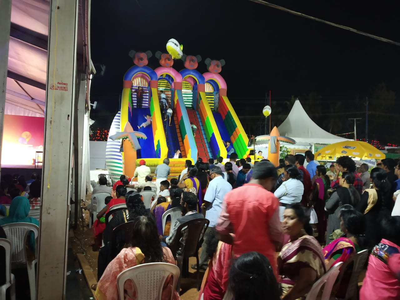 neyattinkara flowers shopping festival 9th day