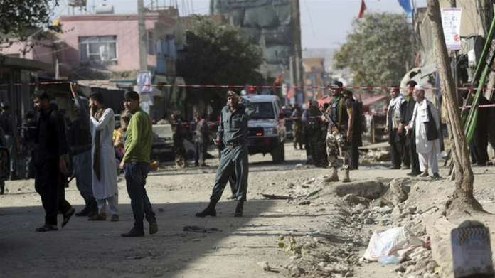 bomb blast in kabul killed 14