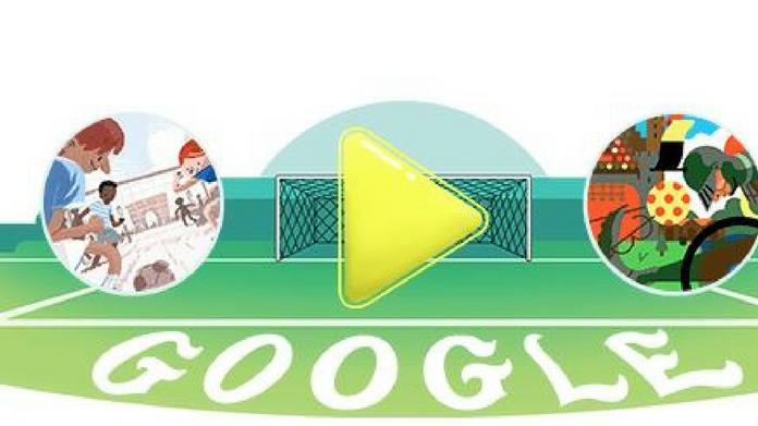 google doodle celebrates firest semi final of fifa world cup 2018