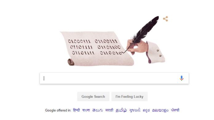 google doodle mathematician