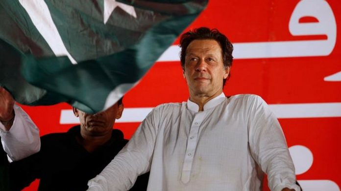 imran khan leads with 114 seats in pakistan election