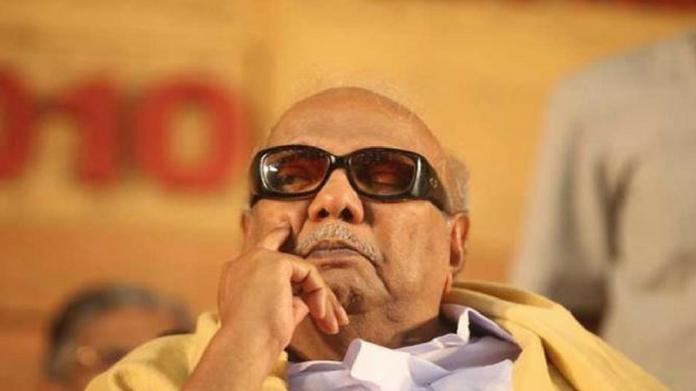 karunanidhi in critical condition