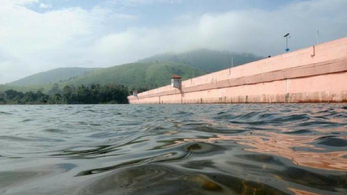 kerala dam touches record