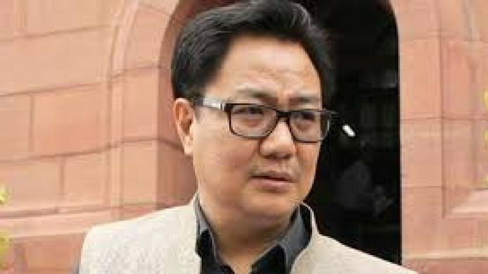 kiran rijiju says center allotted 80 crore in first phase