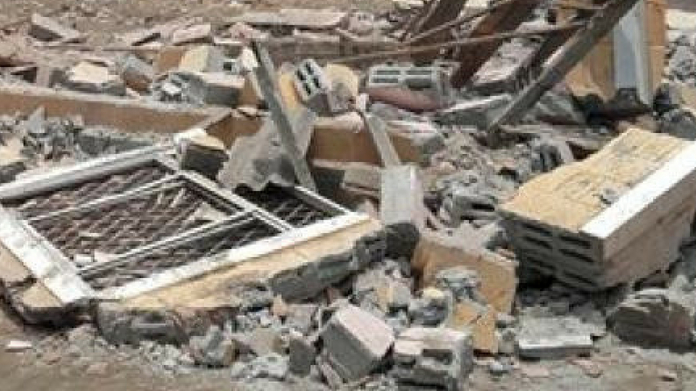 school building collapsed at vaikom