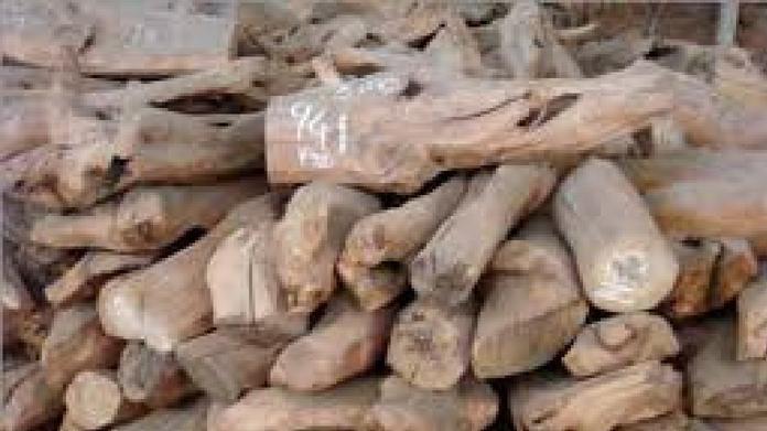 50 kilogram sandal seized from marayur