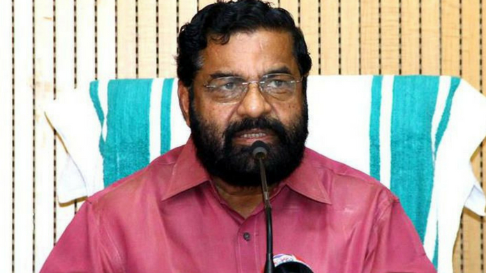 kadakampally surendran donates one month salary to cm disaster management fund