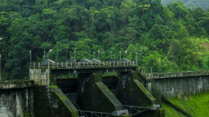 kakkayam dam shutter raised