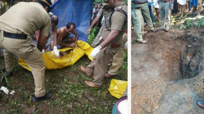 krishnan was afraid of someone says police