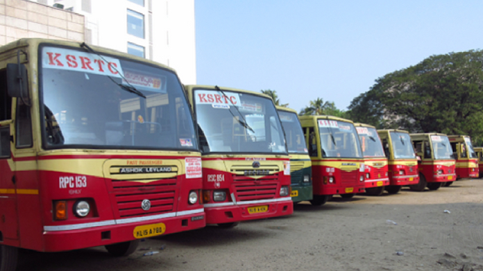 ksrtc strike from monday midnight