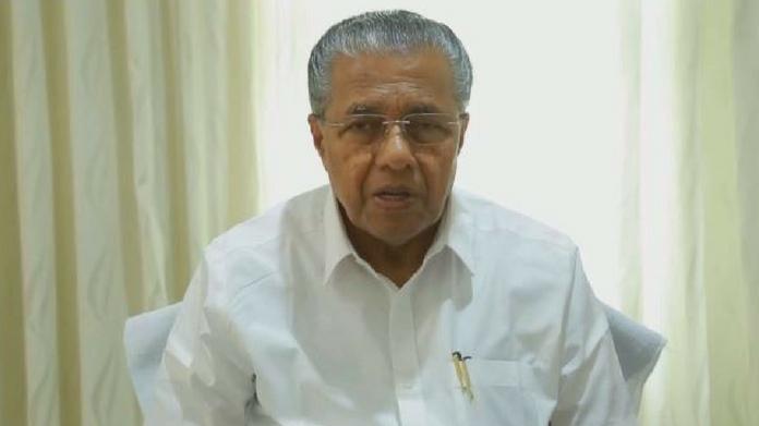 pinarayi vijayan video message