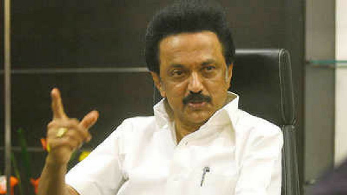 stalin elected as dmk president