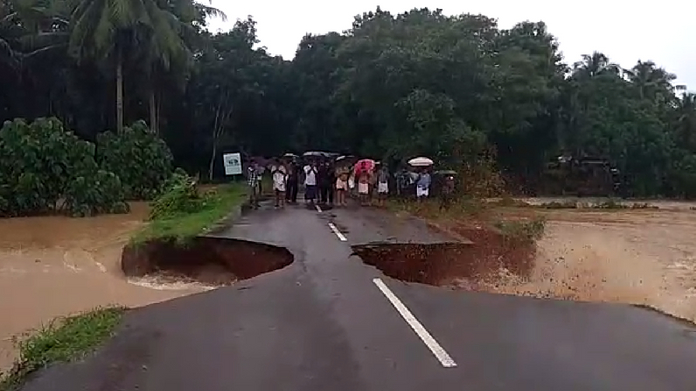 vandoor road collapsed